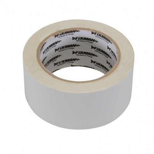 Fixman 192401 Electrical Insulation Tape 50mm x 33m White